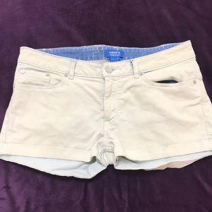 Cute! Adidas jean shorts